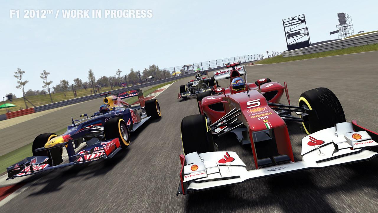 F1 2012 - Ferarri And Red Bull