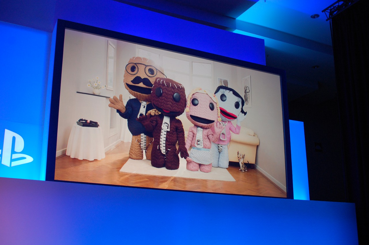 Sony Media Preview - Sackboy