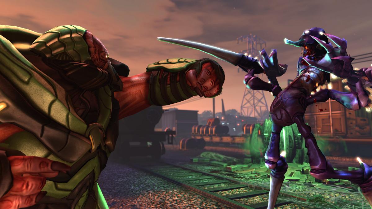 XCOM Multiplayer - Muton vs Chryssalid 2