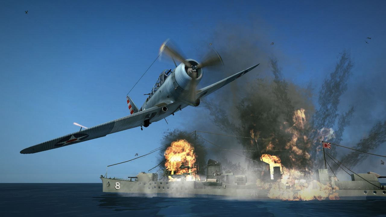 Damage Inc Pacific Squadron WWII screenshot 3