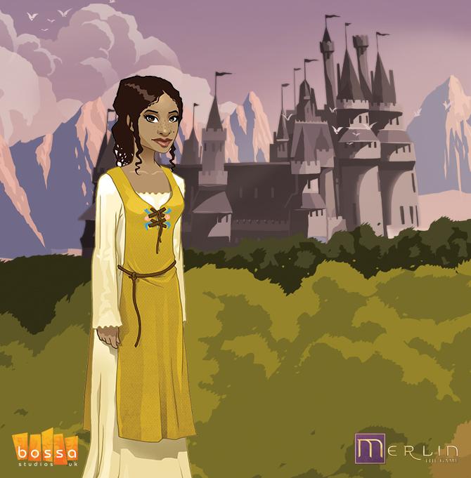 Merlin Game - Gwen