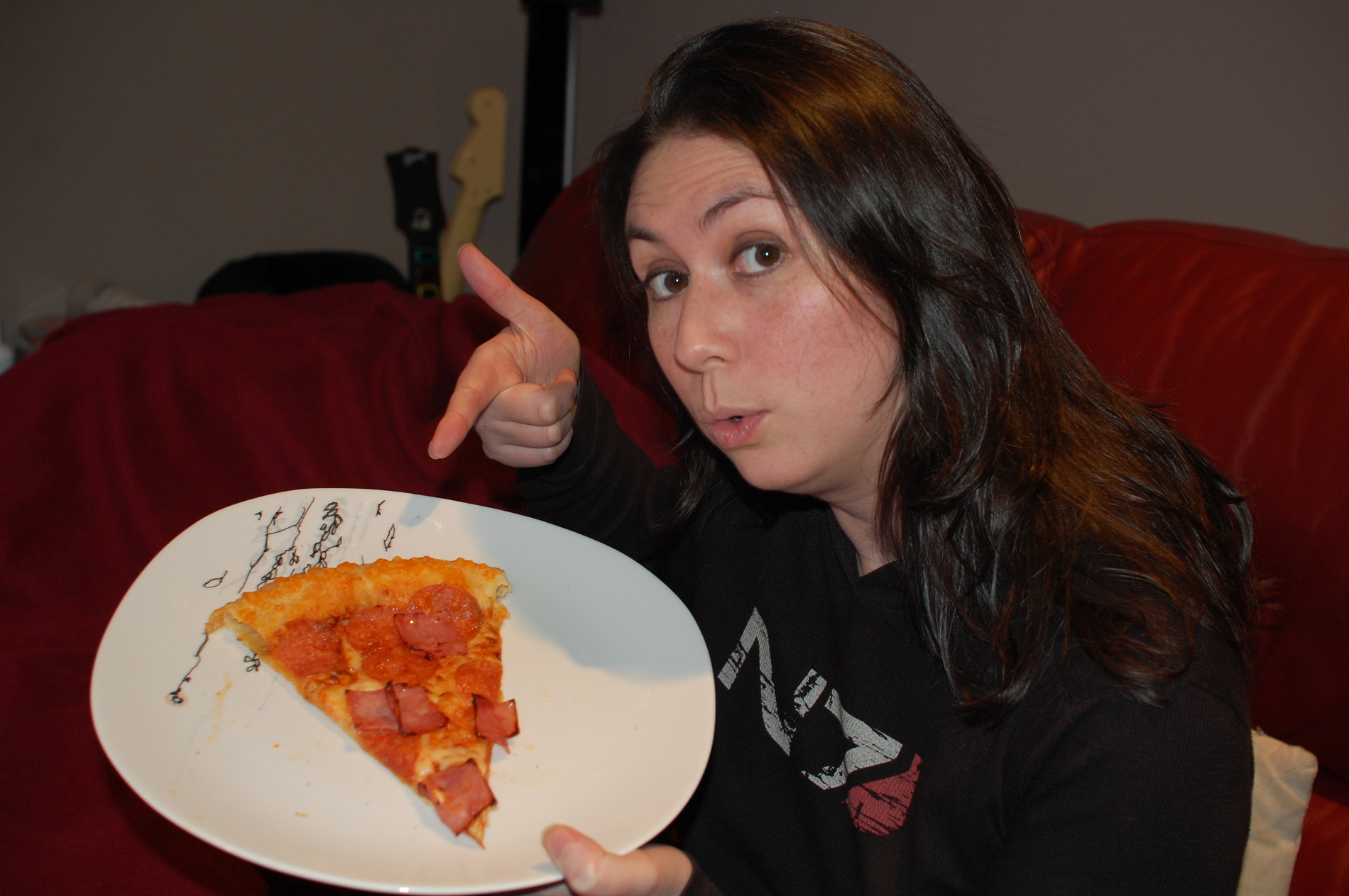 Halo 4 Stuffed Crust Pizza - The Slice