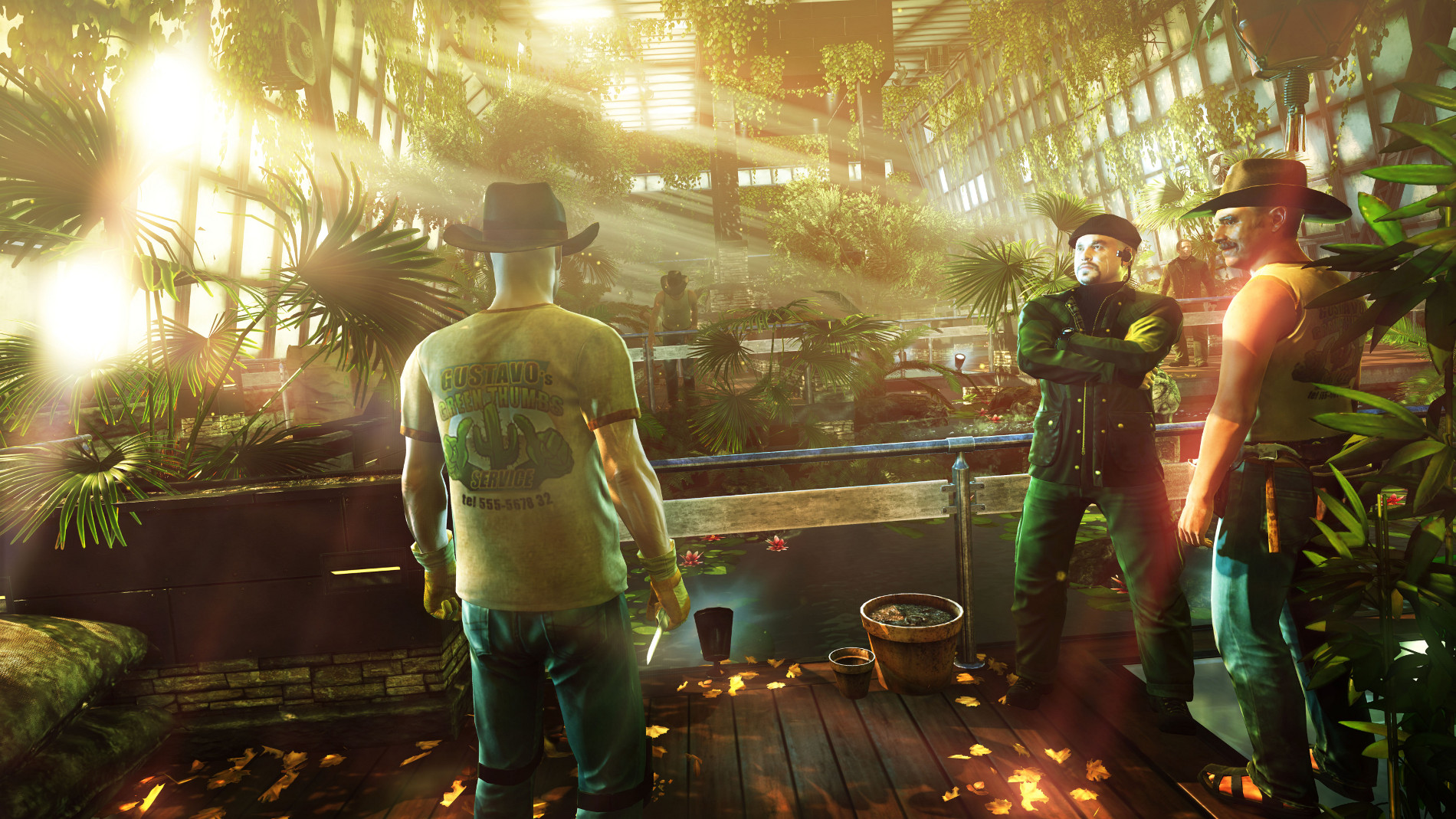 Hitman Absolution - Greenhouse