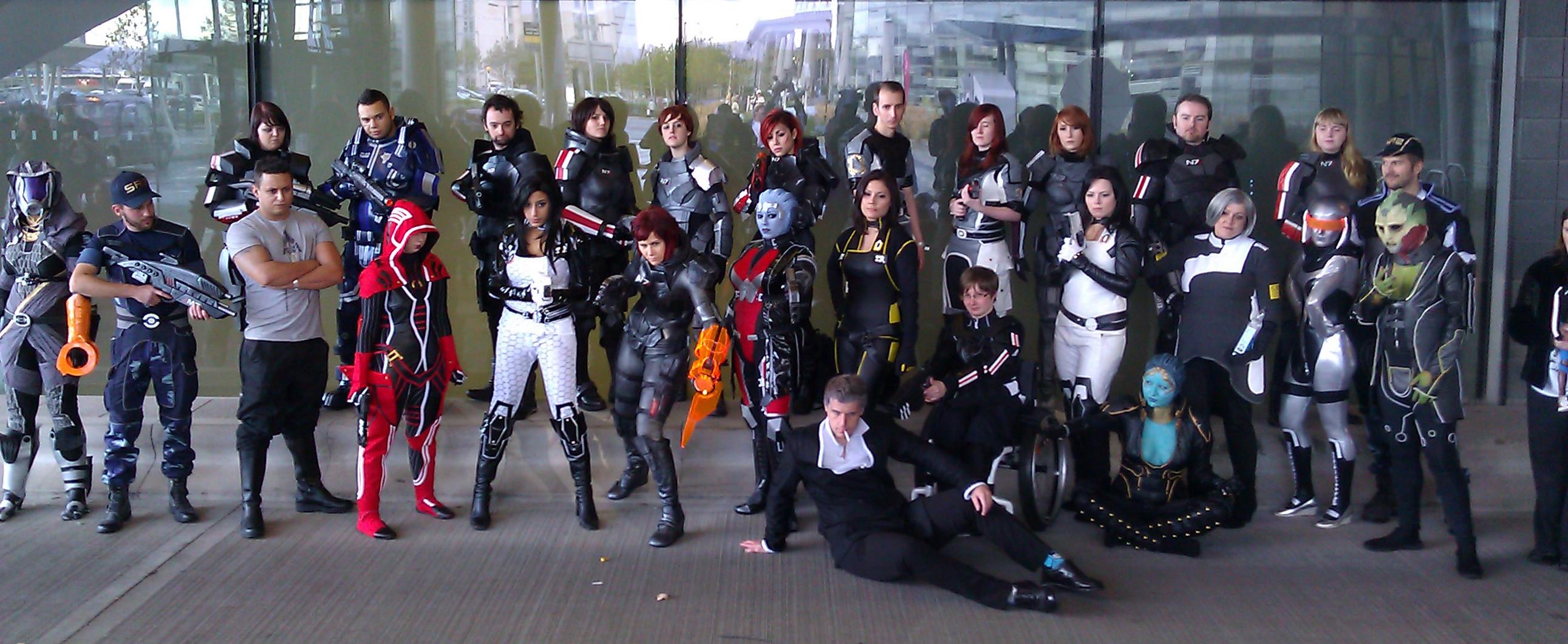 MCM BioWare cosplayers 2012