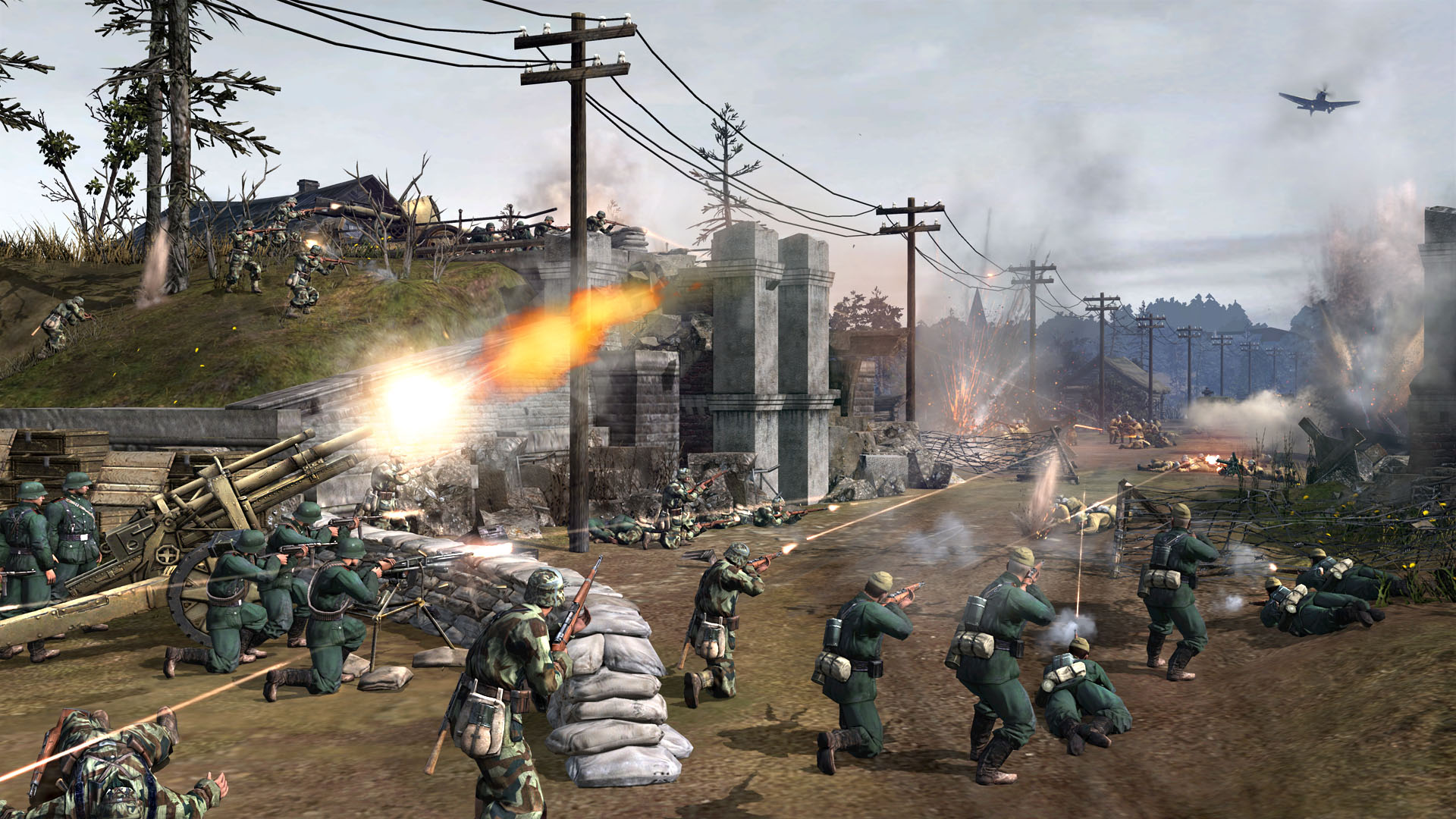 CompanyofHeroes2_MP_Online_GermanDefenses