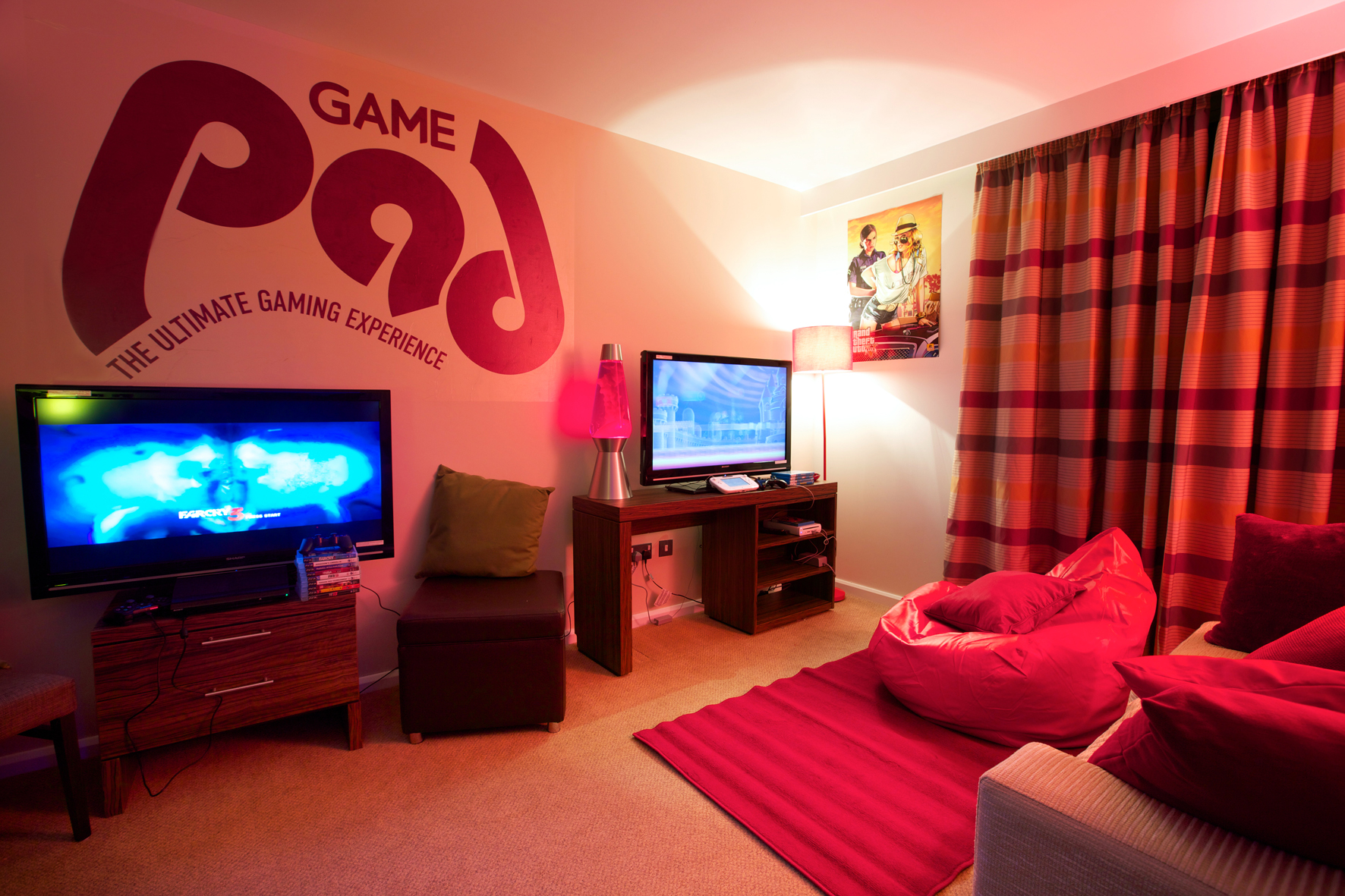 Closed a night in the game pad the average gamer for Living room ideas quiz