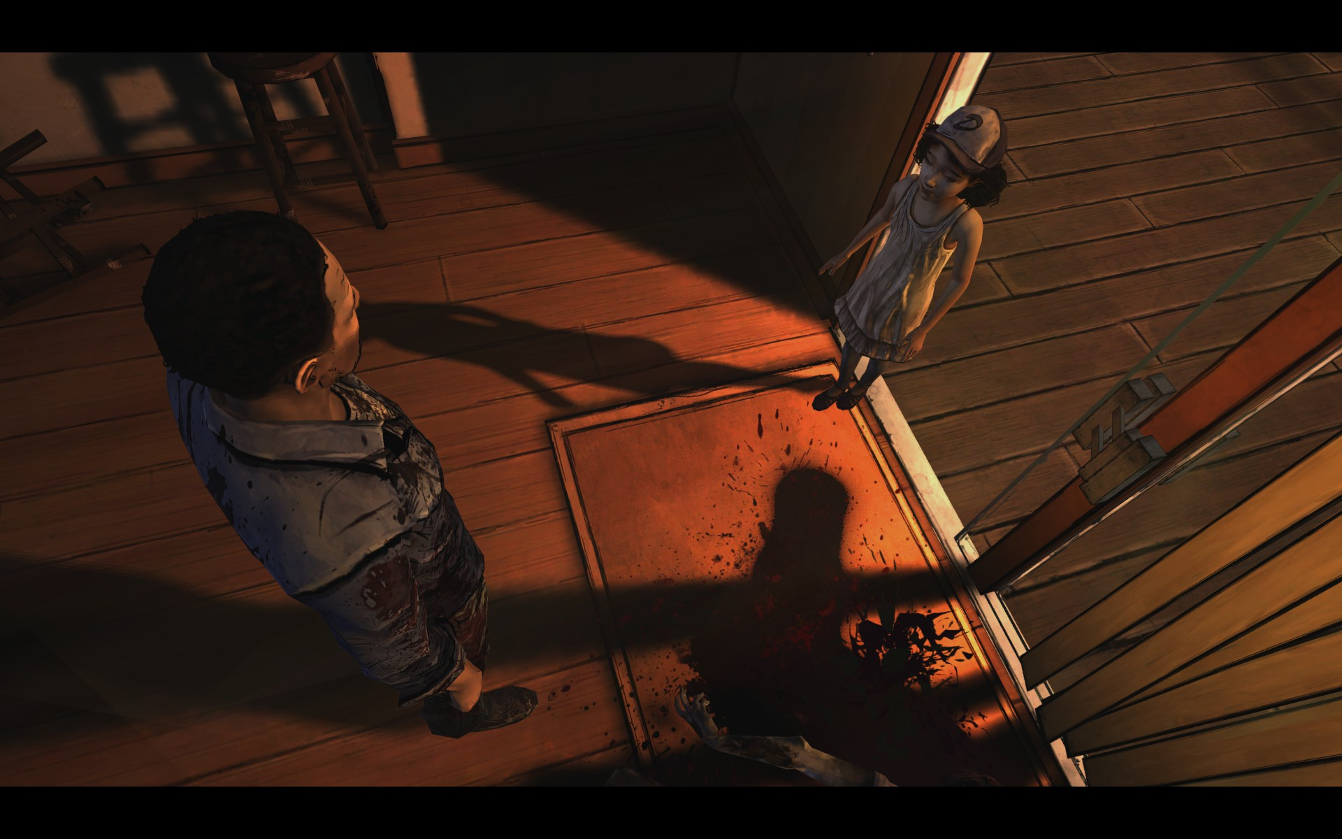 The Walking Dead - Lee and Clementine Meet