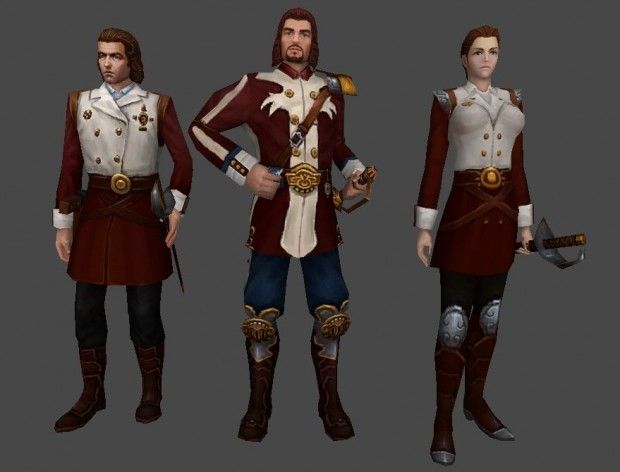 City of Steam - New Guards