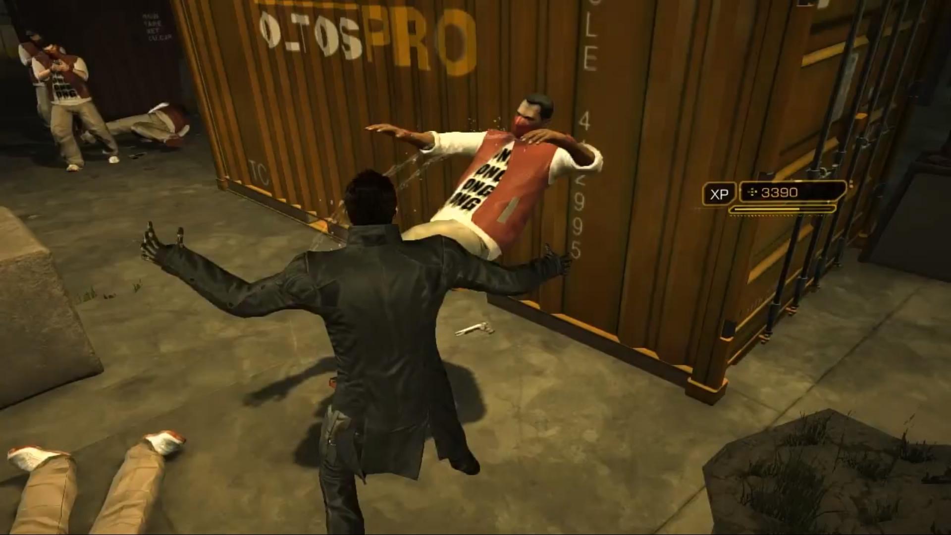 Deus Ex Human Revolution - Torsopuncher