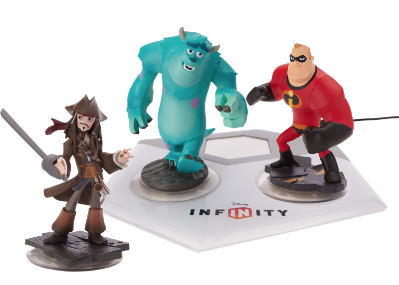 Disney Infinity - Models and Platform