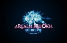 Final Fantasy XIV A Realm Reborn Online Logo Black