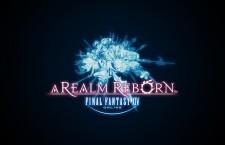 Final Fantasy XIV A Realm Reborn Online Logo Black