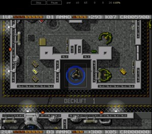 HTML5 Amiga Emulator - Alien Breed II Monsters