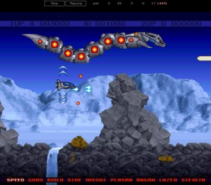 HTML5 Amiga Emulator - Project X Snake
