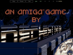 HTML5 Amiga Emulator - Reflections