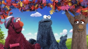 Kinect Sesame Street TV - Tully Cookie Monster and Tree
