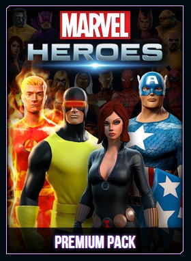 Marvel Heroes Presale Premium Packs