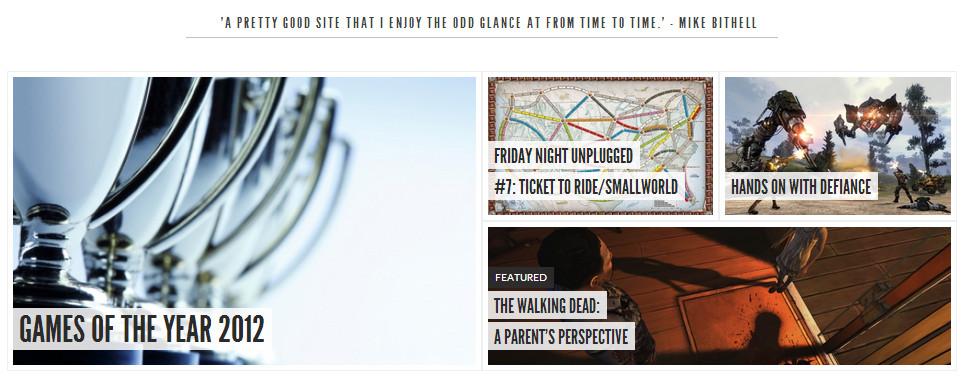 TAG Loook homepage