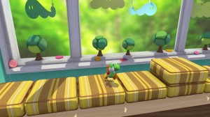 Yarn Yoshi Wii U - Window Bench