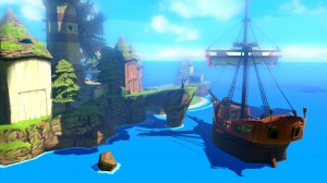 Zelda Wii U Wind Waker HD - Ship