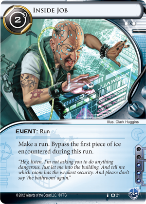 As a Corporation with very few Ice this card was the bane of the game.