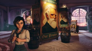 BioShock Infinite - Elizabeth and Father Comstock