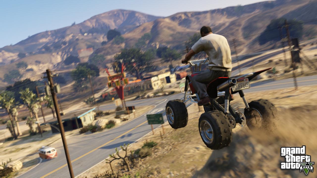 GTA 5 - Quad Bike