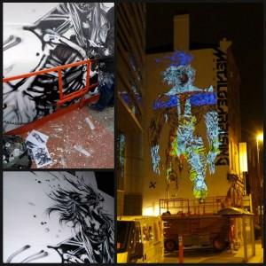 MGR Revengeance Mural Leeds Coloured