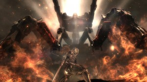 Metal Gear Rising Revengeance - Big Fiery Thing