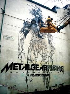 Metal Gear Rising Revengeance - Liverpool Graffiti