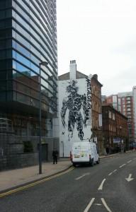 Metal Gear Rising Revengeance Mural - Leeds