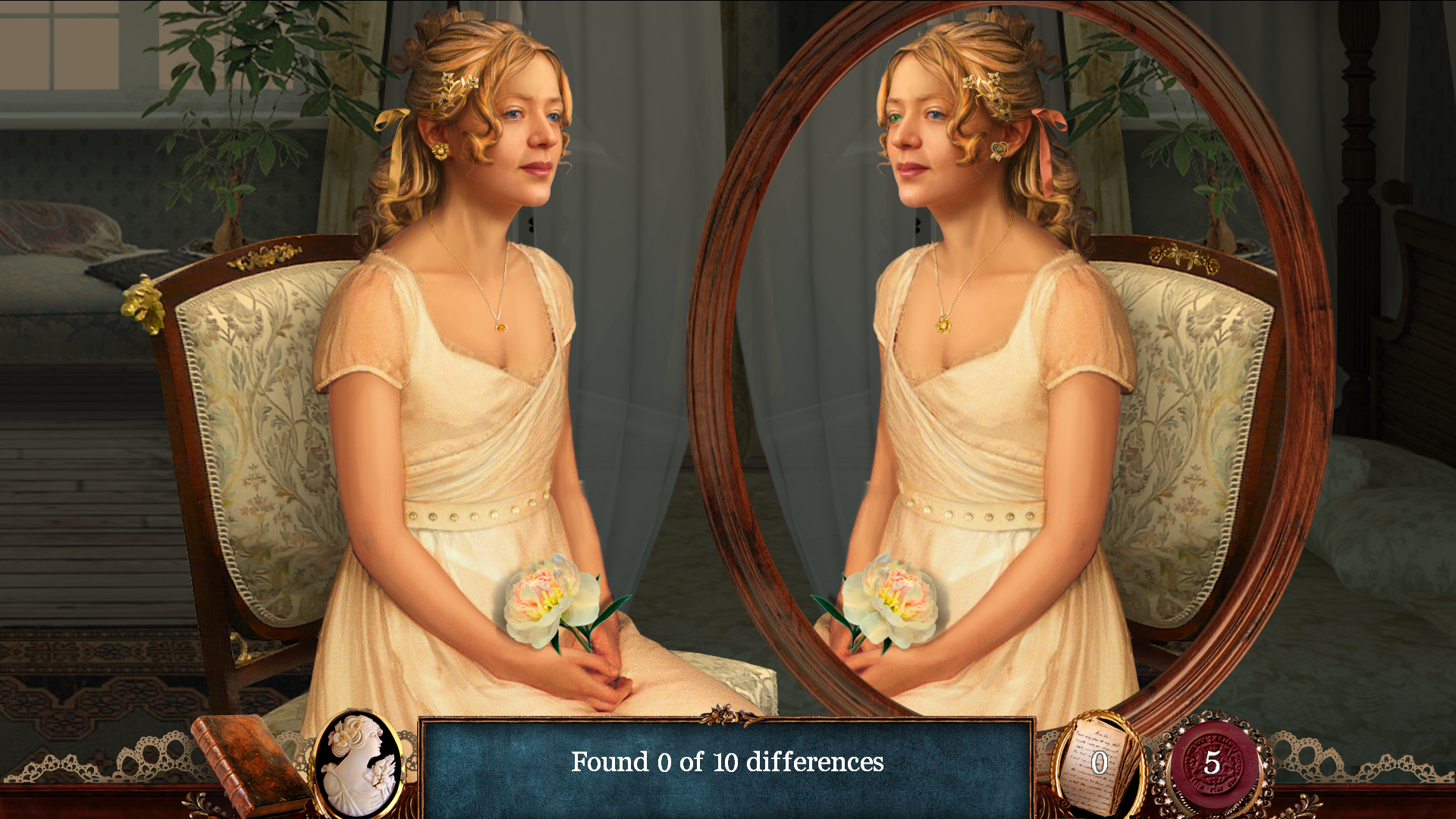 Pride &amp; Prejudice iOS Spot The Difference