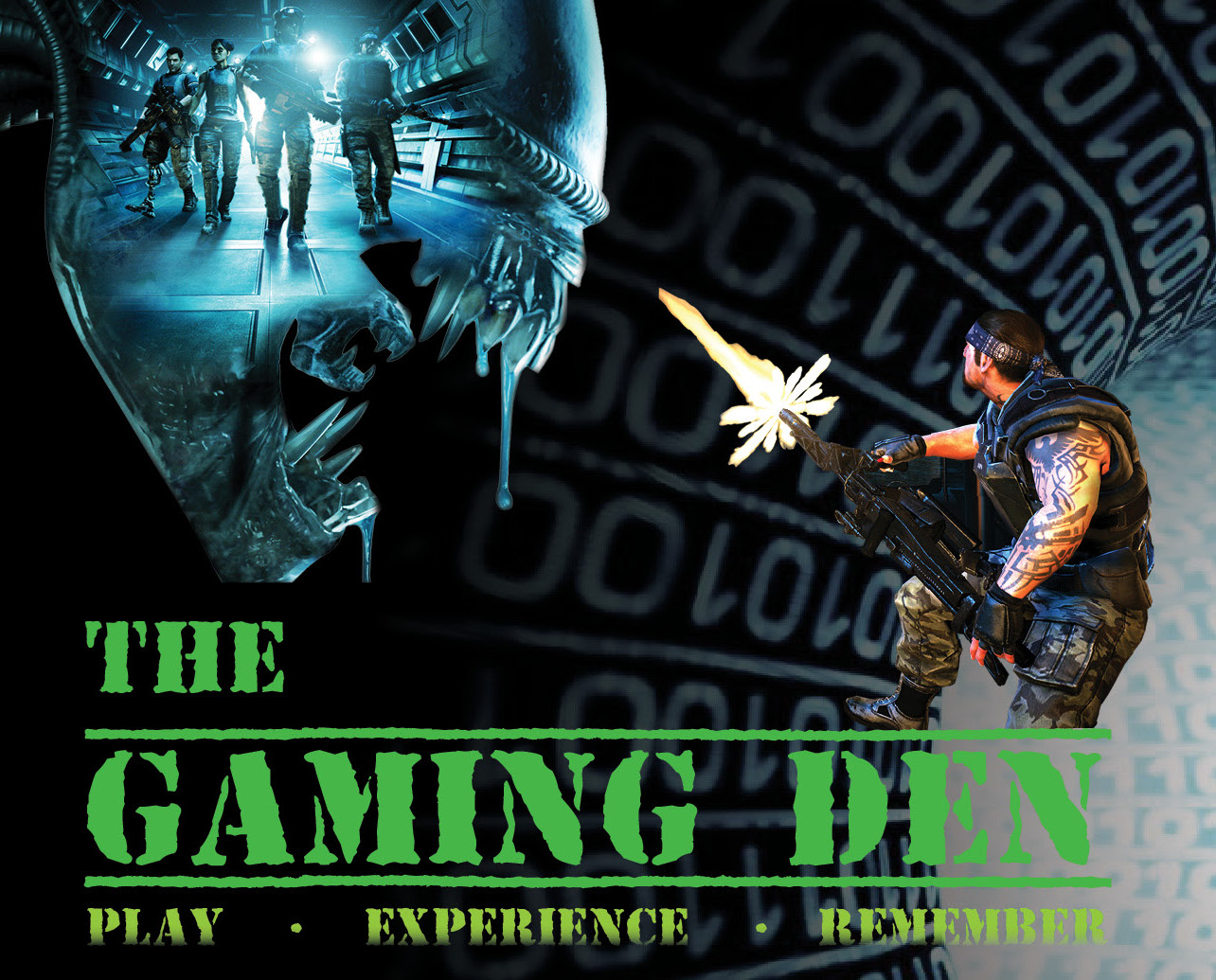 The Gaming Den Colonial Marines Banner