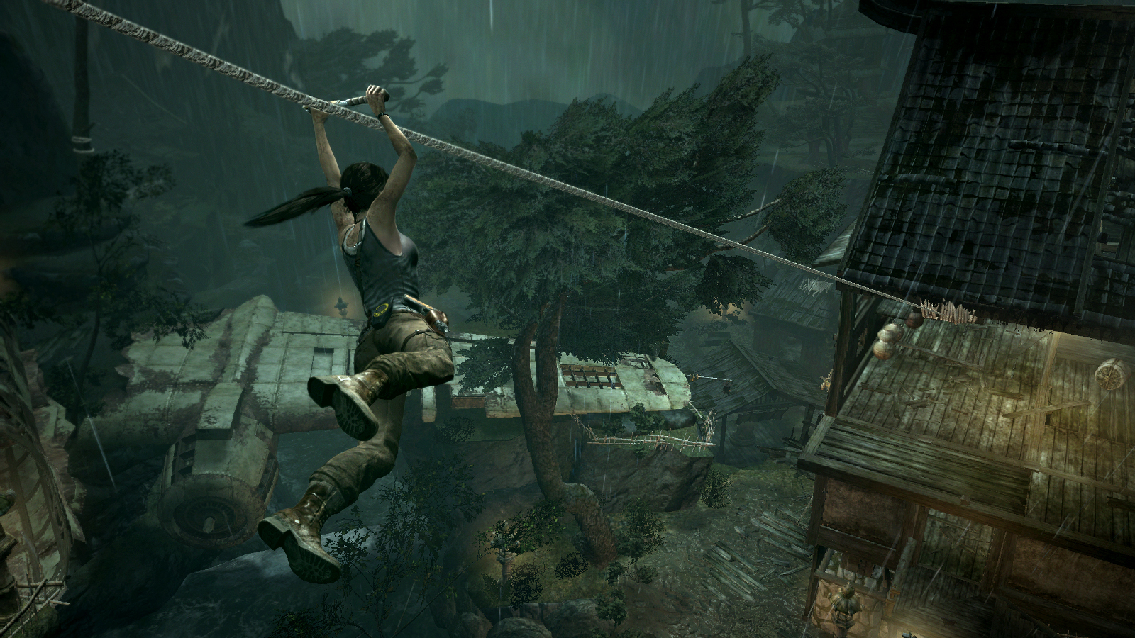 Tomb Raider - Village Zipline