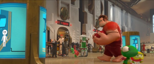 Wreck-It Ralph Game Central 4