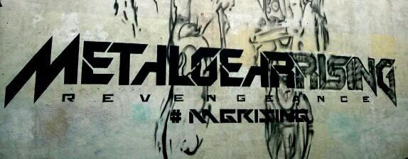 Metal Gear Rising Revengeance - Liverpool Graffiti Crop