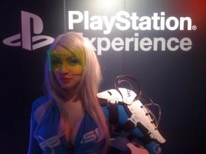 Ami Nakajima Wipeout Playstation Experience