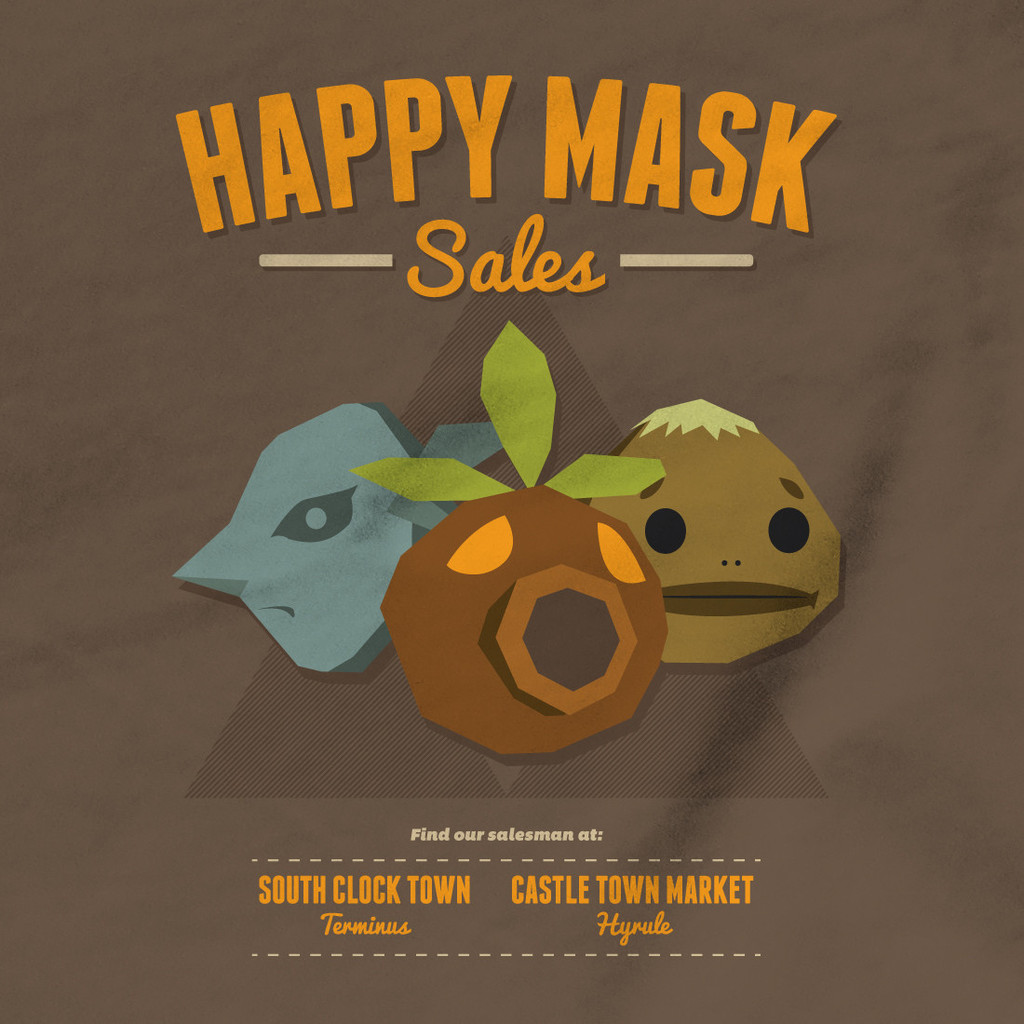 Gamerprint - Zelda Happy Mask Sales