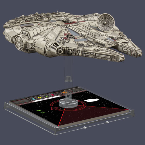 See this? It's the newly released Millenium Falcon model and it wants to live on your shelf.