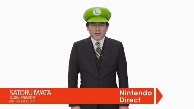 Nintendo Direct - Satoru Iwata