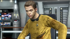 Star Trek Game - Chris Pine Captain Kirk