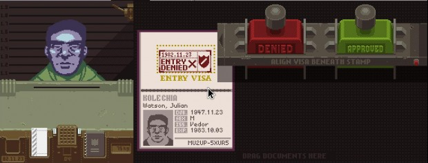 Papers Please - Entry Denied