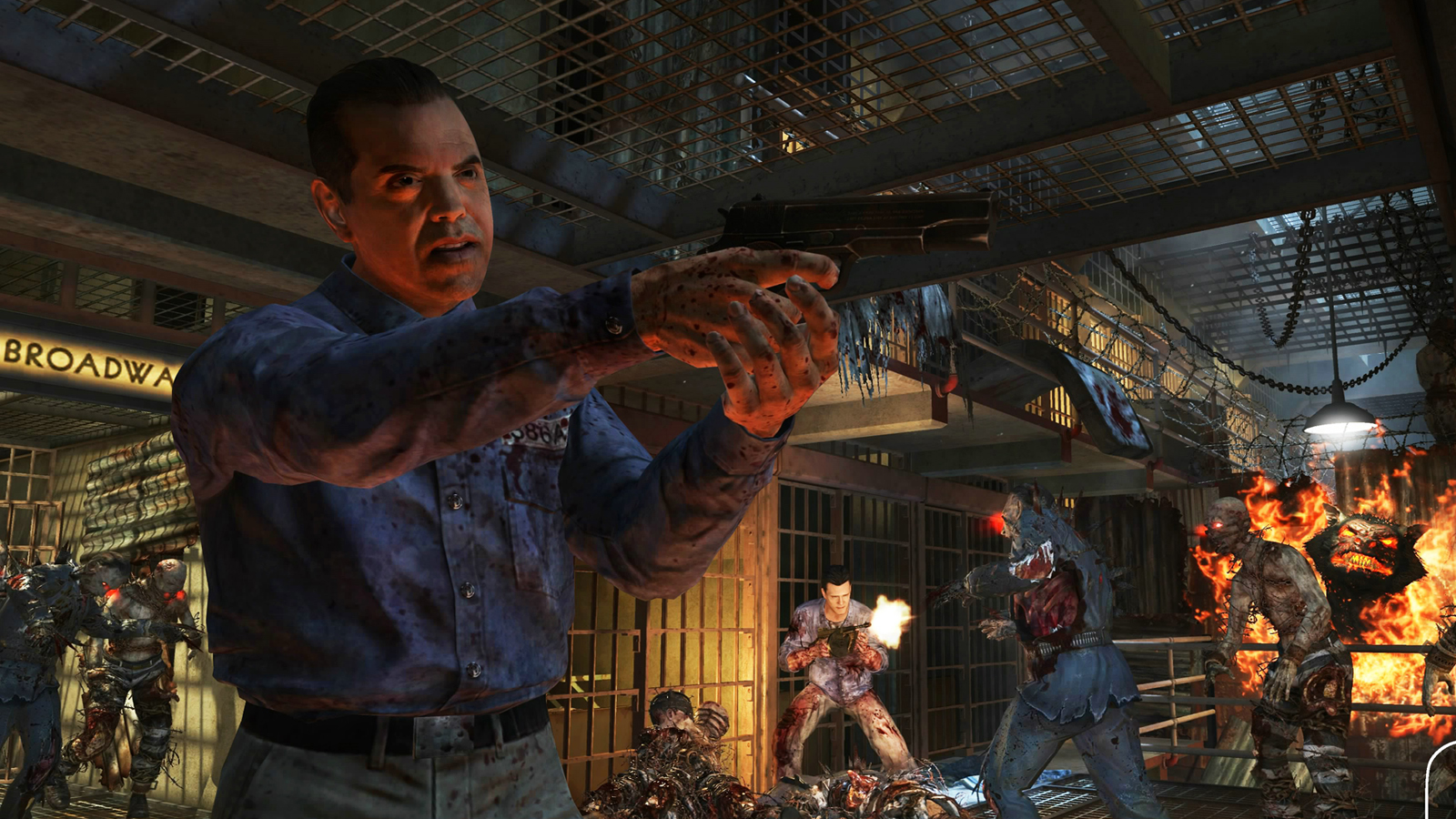 Call of duty black ops ii uprising dlc review the - Mob of the dead pictures ...