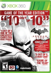 Batman GOTY Cover Clipart