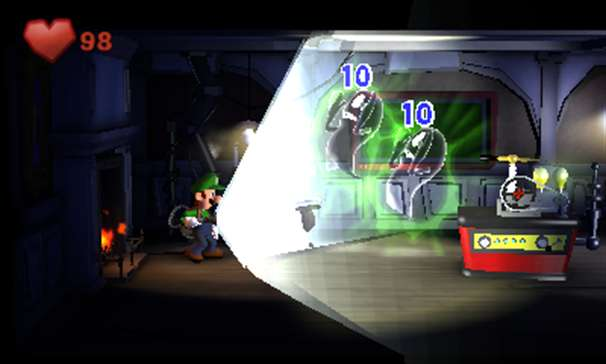 Luigi&#039;s Mansion 2 screen 2