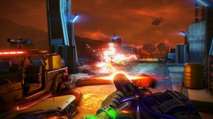 Far Cry 3 Blood Dragon - Minigun_battle