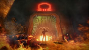 Far Cry 3 Blood Dragon - OMEGA_door