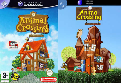 Segab Animal Crossing Cover Clipart