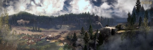 Total War Rome II - Teutoburg Forest