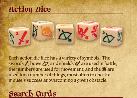 The Action Dice dictate the ebb and flow of..well everything.